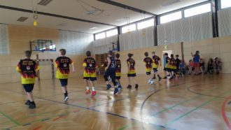U12 Post SV Nürnberg bei den United World Games in Klagenfurt.