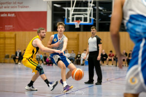 Topscorer der Partie mit 16 Jahren: Christian Feneberg - Foto: Güner Santemiz