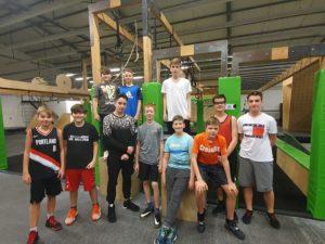 Teambuilding Wochenende der u14-2