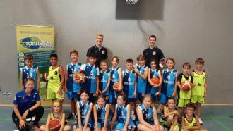 Post SV U10-Teams nahmen am Minisaisonauftaktturnier teil