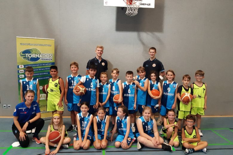 Post SV Nürnberg Basketball Mannschaft U10
