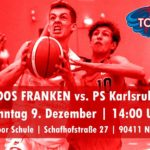 Tornados Franken – Start in die Relegation geglückt