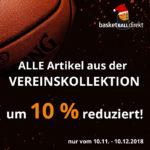 Jetzt bestellen bei basketBALLdirekt – 10% Rabattaktion