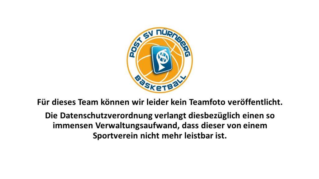 Post SV Nürnberg Basketball Mannschaft Anfänger