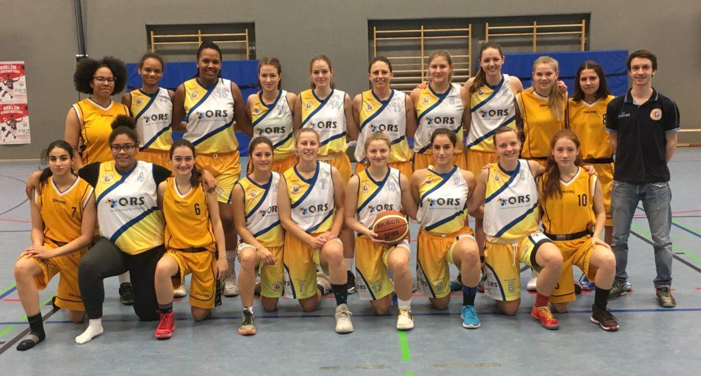 Post SV Nürnberg Basketball Mannschaft Damen 1