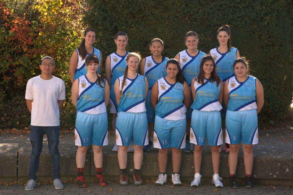 Post SV Nürnberg Basketball Mannschaft Damen 4