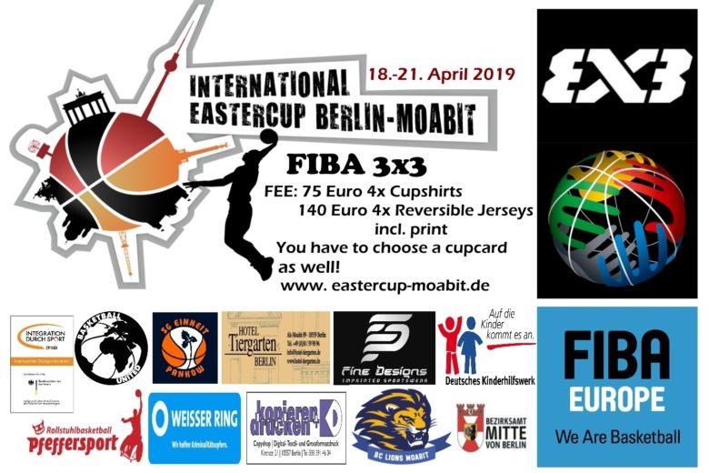 Ausschreibung Turnier – Eastercup Berlin-Moabit