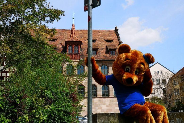Schatzsuche mit dem Postibär durch Nürnberg!