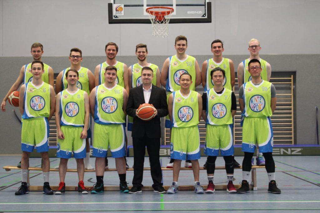 Post SV Nürnberg Basketball Mannschaft Herren 4
