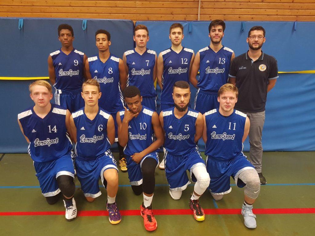 Post SV Nürnberg Basketball Mannschaft Herren 2