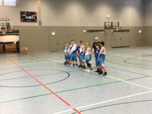Hin und Rückspiel erfolgreich gegen Ansbach für die U 12 3