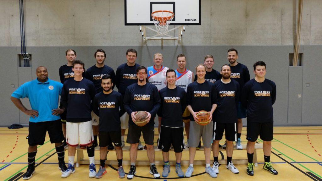 Post SV Nürnberg Basketball Mannschaft Herren 3