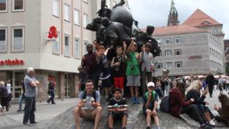 POST LIONS Abschlusstraining und Geocaching-Tour