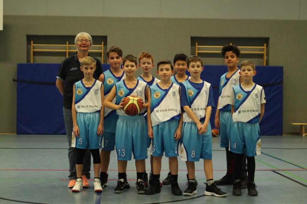 Post SV Nürnberg Basketball Mannschaft U12m3