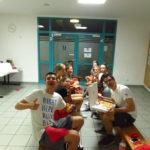 Übernachtung im Sportzentrum Süd