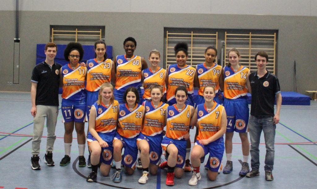 Post SV Nürnberg Basketball Mannschaft Damen 2