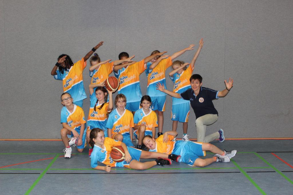 Post SV Nürnberg Basketball Mannschaft U12w5