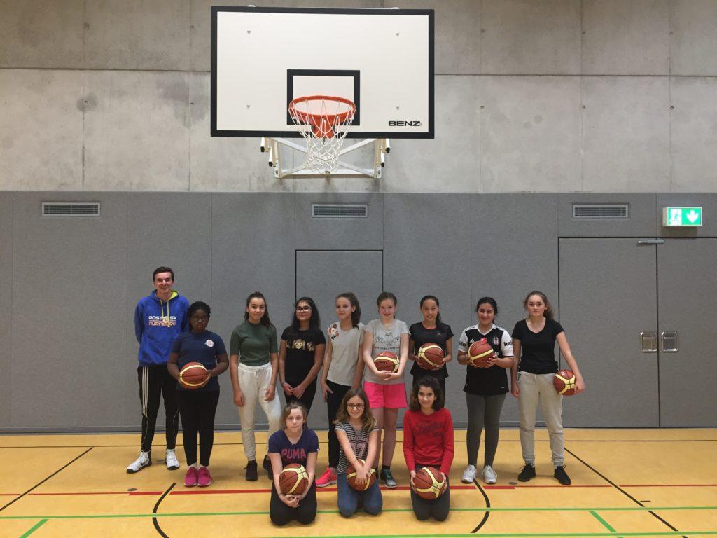 Post SV Nürnberg Basketball Mannschaft Anfänger 1