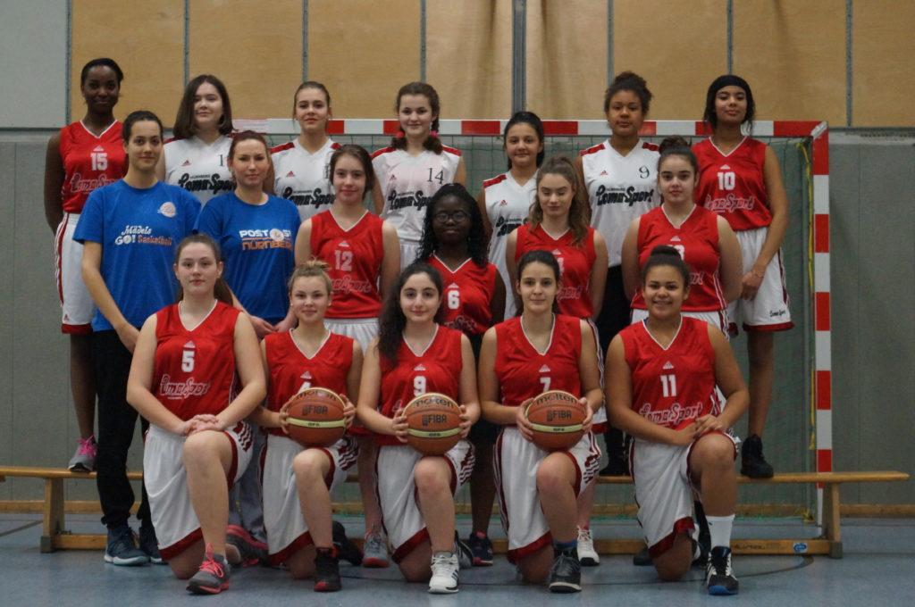 Post SV Nürnberg Basketball Mannschaft U16w3