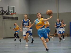 U16 Mädels erreichen nach Doppelspieltag die Play-offs