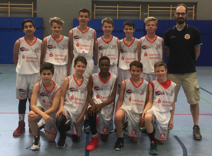 Post SV Nürnberg Basketball Mannschaft U16m2