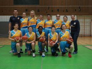 U16 Mädels mit starker Play-off Leistung