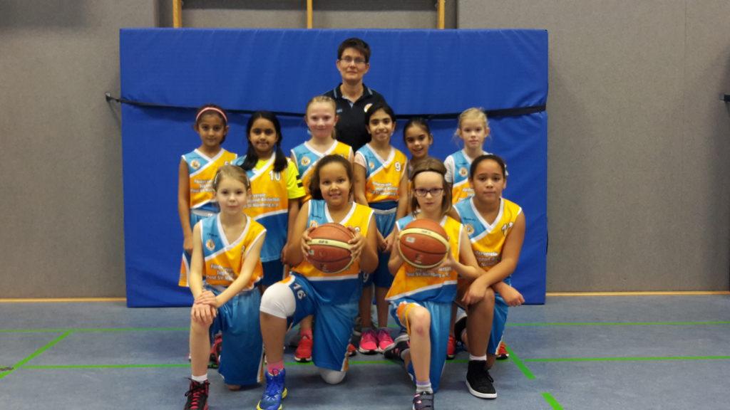 Post SV Nürnberg Basketball Mannschaft U10w1