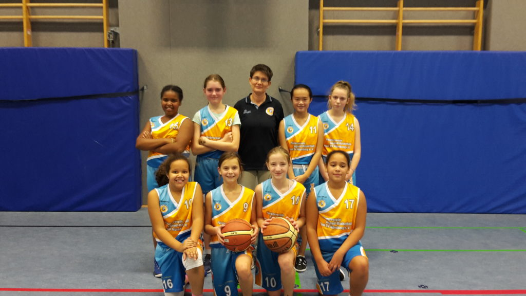 Post SV Nürnberg Basketball Mannschaft U12w1