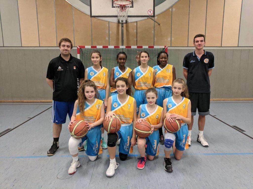Post SV Nürnberg Basketball Mannschaft U14w1