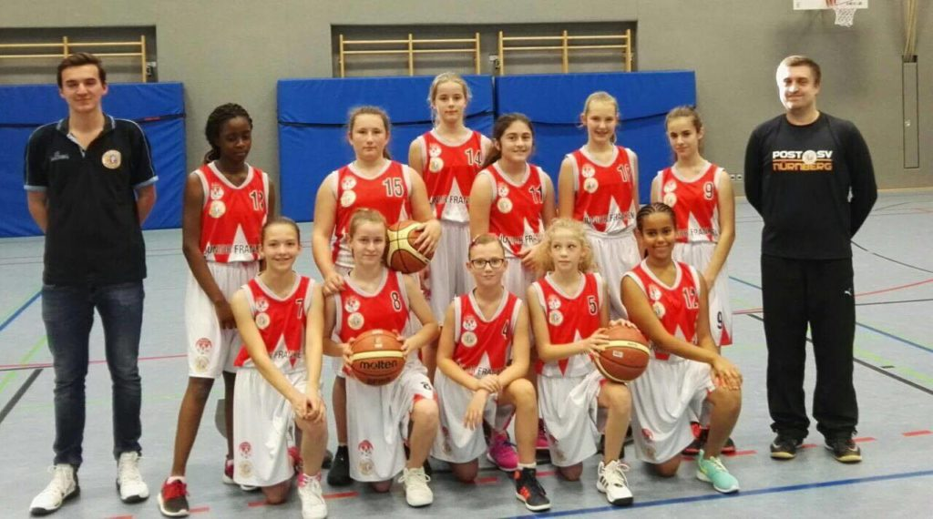 Post SV Nürnberg Basketball Mannschaft U14w2