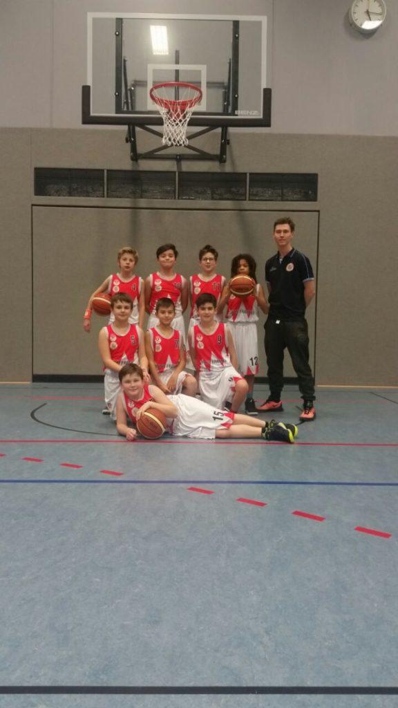 Post SV Nürnberg Basketball Mannschaft U12m6