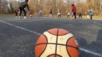 Glückliche Kinder und Coaches – Wiedereinstieg in der Basketballabteilung
