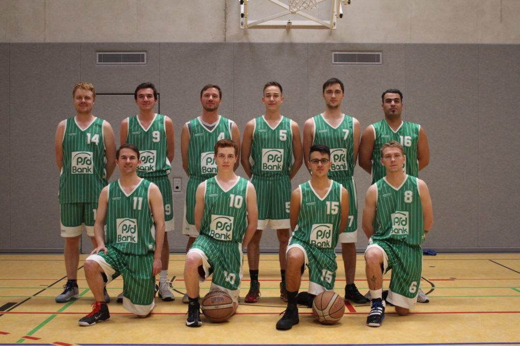 Post SV Nürnberg Basketball Mannschaft Herren 6