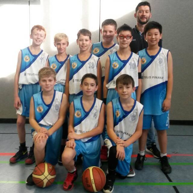 Post SV Nürnberg Basketball Mannschaft U12m1