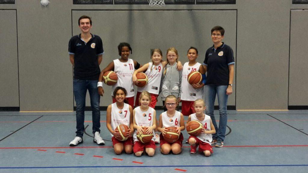 Post SV Nürnberg Basketball Mannschaft U10w4