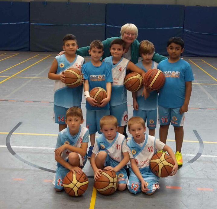 Post SV Nürnberg Basketball Mannschaft U10m5