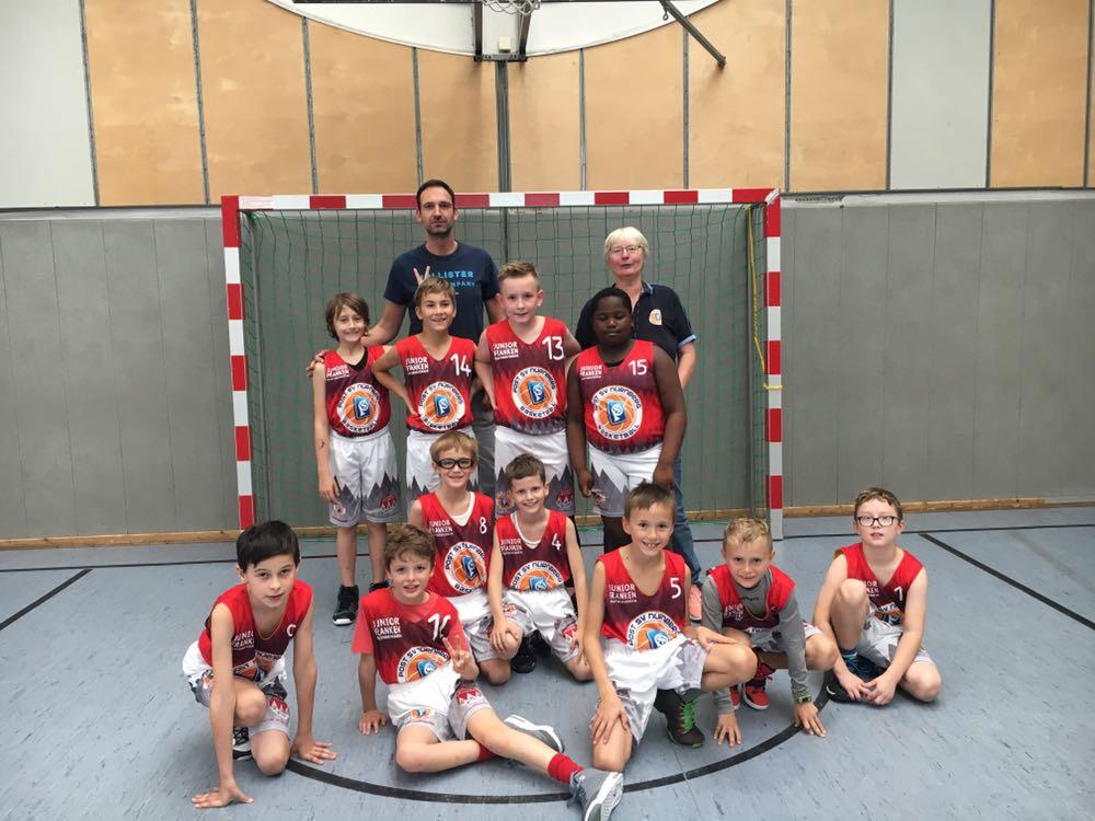 Post SV Nürnberg Basketball Mannschaft U12m4