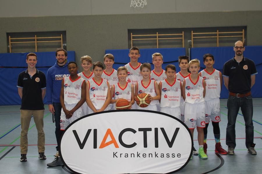 Post SV Nürnberg Basketball Mannschaft U14m1