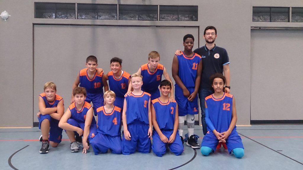Post SV Nürnberg Basketball Mannschaft U14m4