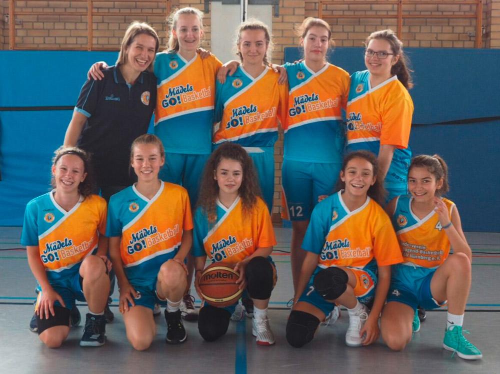 Post SV Nürnberg Basketball Mannschaft U16w2